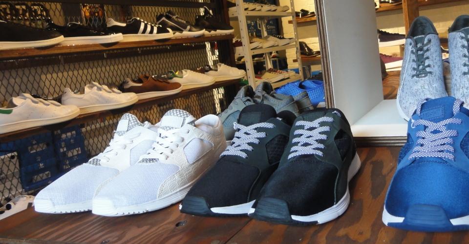 BACKWOODS~熊本城下町の靴専門セレクトショップ/スニーカー・ブーツ・サンダル